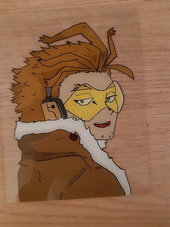 Rysunek na szkle anime