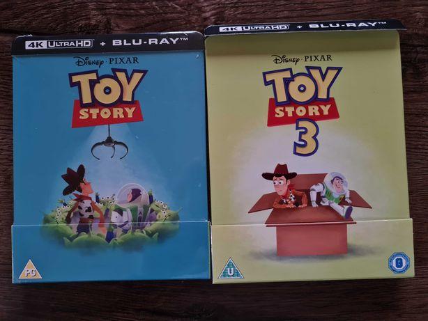 Toy Story 4K + Toy Story 3 4K Steelbook