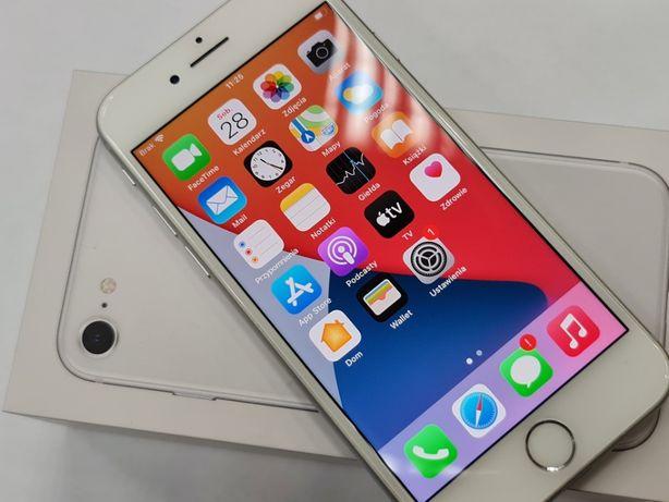 Iphone 8 64GB/ Silver/ 100% oryginalne komponenty/ Gwarancja/ Gdynia