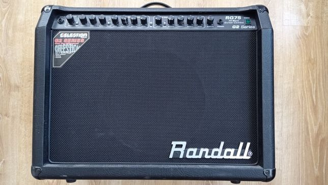 """Randall RG75, 75w 1x12"""" Celestione G2 Series + footswitch"""