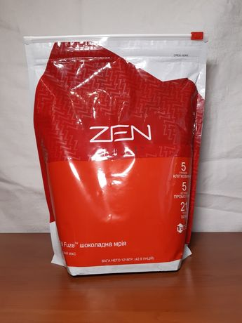 Спортивное питание Протеиновые коктейли ZEN Fuze Шоколад