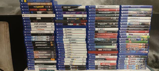 Gry Ps4 PlayStation4 super kolekcja Sprzedam/zamienię LEGO FIFA rayman