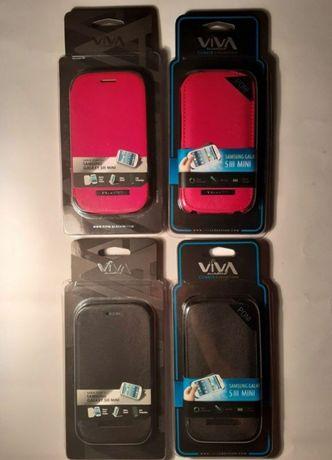 Чехлы на Samsung Galaxy S3 Mini. Новые. Кожаные. Флип + книжка.
