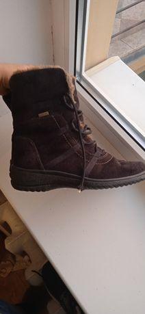 Сапожки ботинки зимние мембранные термо Ara Gore-tex Ecco Legero Geox