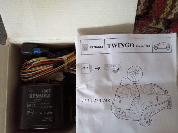 Alarmes, renault Twingo e technimaster