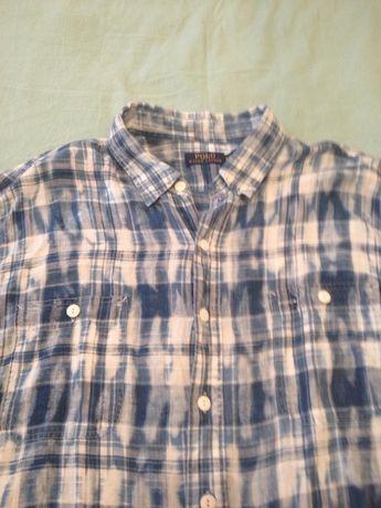 Мужская клечатая рубашка Polo Ralph Lauren