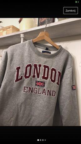 Szara bluza bez kaptura London