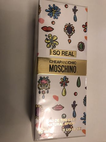 Moschino, cheap and chic. So real 30 ml
