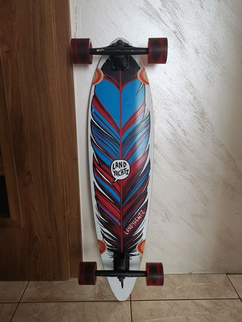 Longboard Landyachtz Maple Chief Feather crusing carving