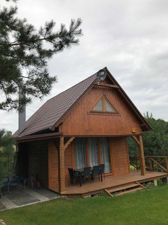 Dom nad jeziorem Wądzyń