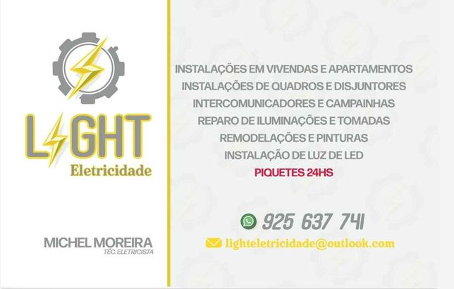 Eletricista 24h Grande Lisboa, preço justo!!