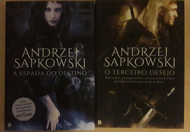 Witcher 1-2, Anrdzej Sapkowski -O Terceiro Desejo, A Espada do Destino
