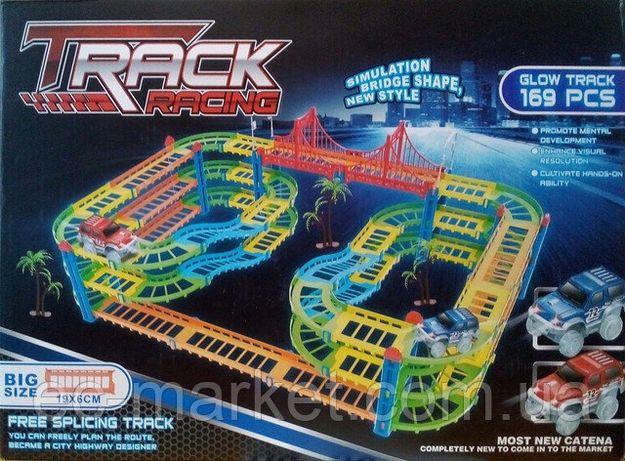 Track Racing 9001CD светящаяся гибкая дорога (аналог Magic Tracks) 169
