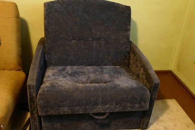 """Rozkładany fotel - typ """"amerykanka"""" - dla jednej osoby"""