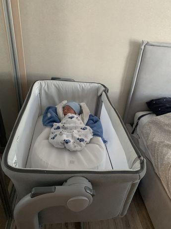 Детская приставная кроватка Chicco next 2 me Magic