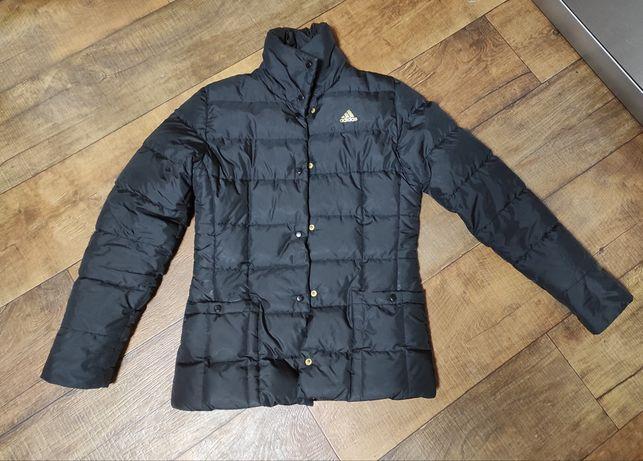 Куртка  adidas xxs-xs зимняя демисезонная женская короткая чёрная Nike