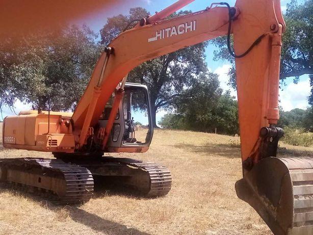 Escavadora Giratória - Hitachi Ex 200