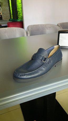 Мужские кожанные туфли Bally