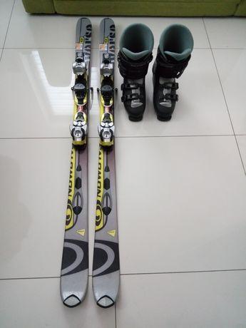 Sprzedam komplet narciarski