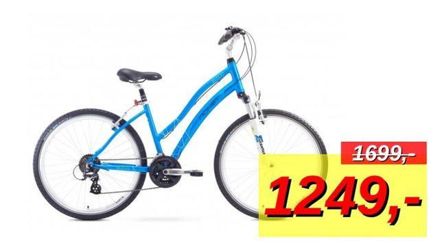 Romet Belleco koła 26 niebieski rama 16 M