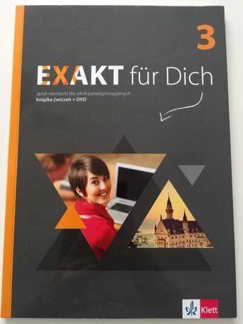 EXAKT fur Dich 3, język niemiecki książka ćwiczeń