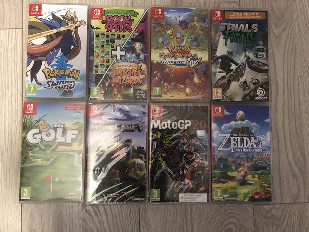 Nintendo Switch, super mario, zelda, pokemon, sonic, rayman