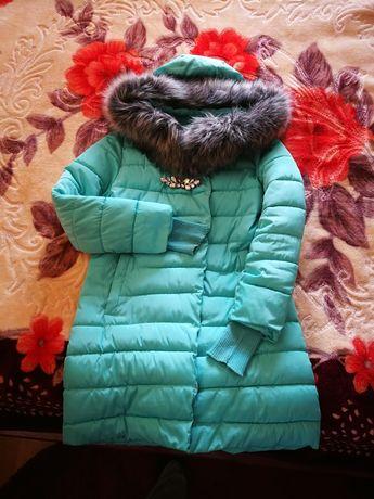 Пуховик зимний женский