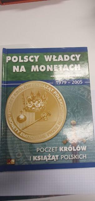 Album klaser z monetami Poczet Królów Polskich -14 sztuk monet Stany I