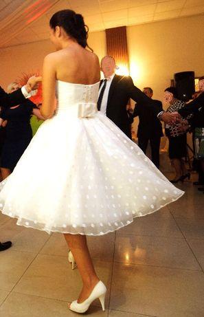 Suknia ślubna Gala Suzanne midi rozm. 38