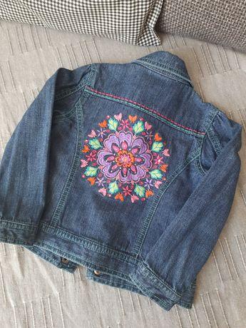 Katana, kurtka jeansowa, dżins
