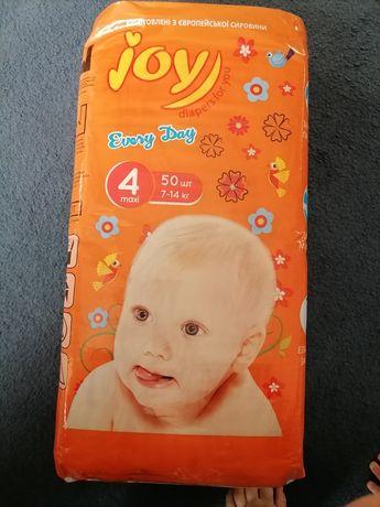 Памперсы Joy 4 50 шт