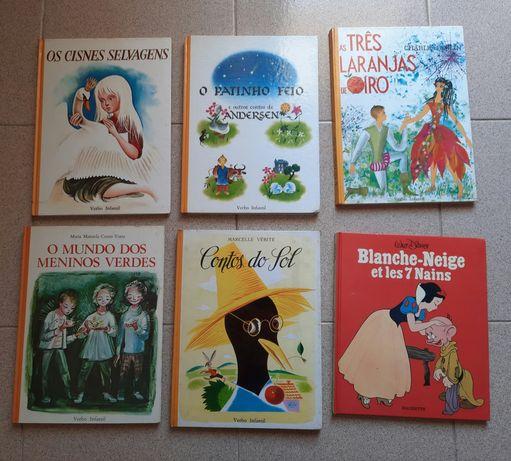 Livros intantis diversos antigos