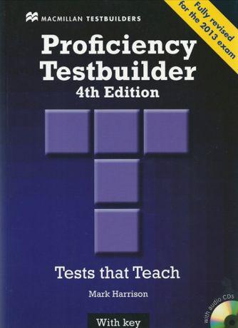 Proficiency Testbuilder 4th edition with Key. Учебник + Aудио