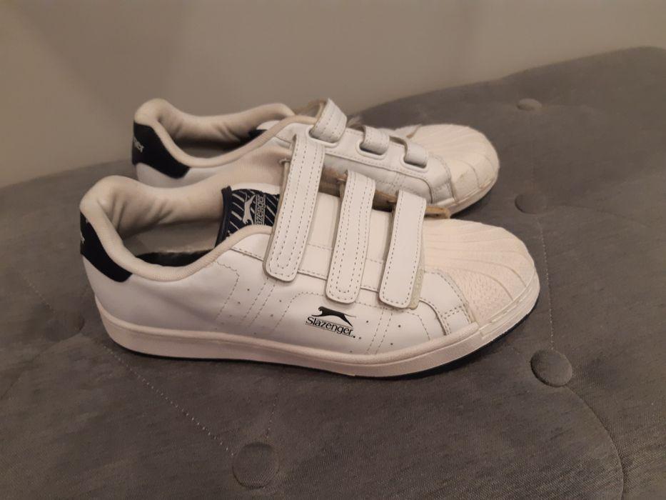 Slazenger 39.5 skórzane sportowe buty Przeworsk - image 1