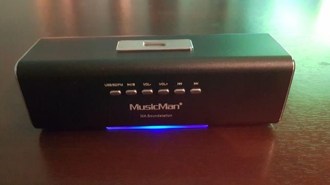 Mobilne mini radio glośnik usb sd akumulator aux