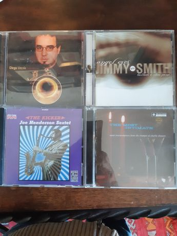 vendo cd's de jazz. jimmy smith, charlie shavers, joe henderson, diego