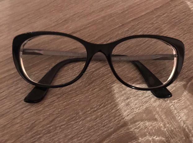 VOGUE czarne oprawki okularowe wiosna