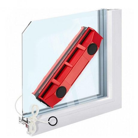 Щетка магнитная для мытья стекол с двух сторон Glider/ щетка для окон