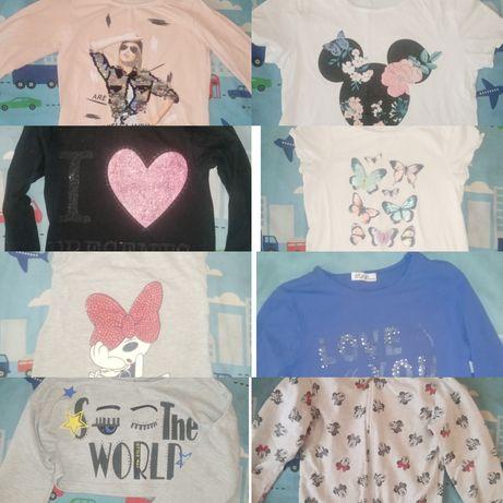 Кофти для дівчинки, футболка, кофта, 9 шт