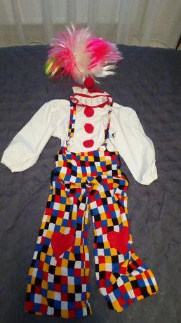 Strój karnawałowy - klaun