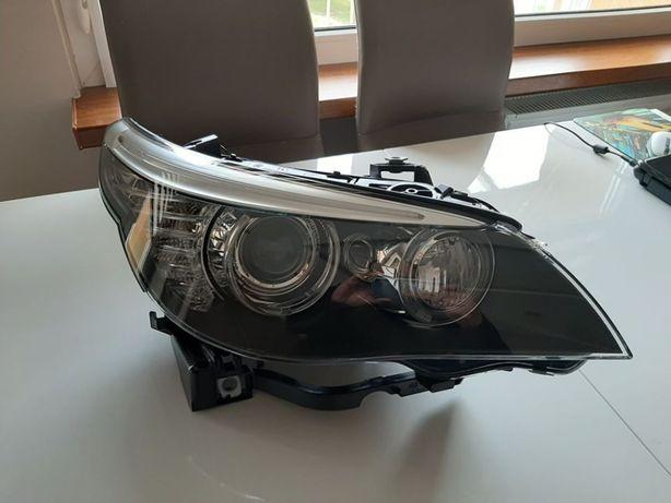 Nowy Reflektor BMW E60 E61 BIXENON SKRĘTNY PRAWY oryginał HELLA