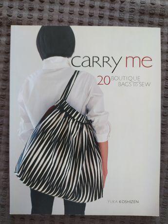 """Yuka Koshizen """"Carry me"""" książka o szyciu torebek"""