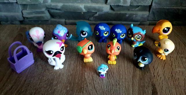 Littlest Pet Shop LPS Figurki ptaków LPS + akcesoria