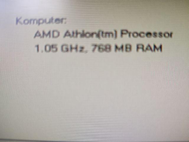Komputer XP ADM Athlon(tm) Processor 1.05 GHz, 768 MB RAM Zielona Góra - image 1