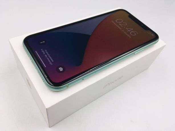 iPhone 11 64GB GREEN • PROMOCJA • GWARANCJA 1 MSC • AppleCentrum