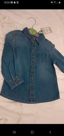 Koszula chłopięca PRIMARK jeansowa