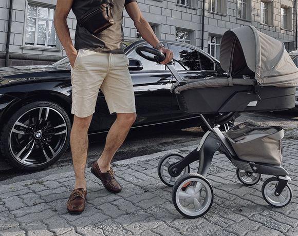 Продам дитячу коляску stokke xplory 3 в 1 + сітка, дощовик, зимник