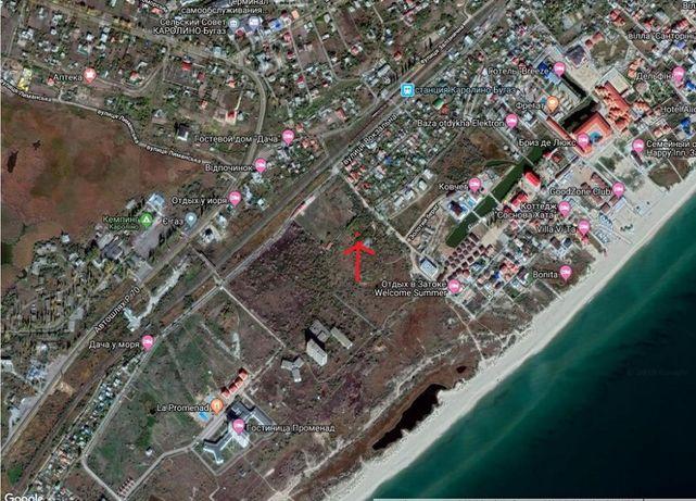 Продам свой участок Затока Лиманский район, морская сторона.