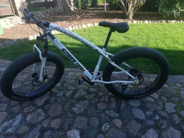 Rower górski Fat bike