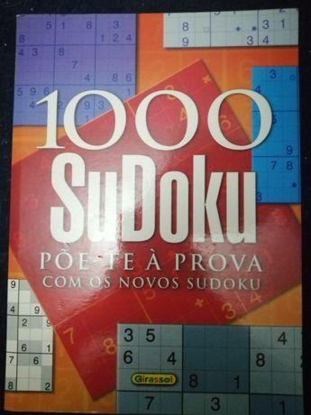 livro 1000 sudoku novo nunca usado